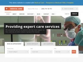 響應式醫療HTML5模板TA17X04